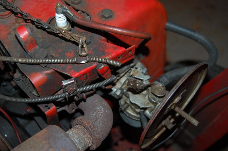 Throttle linkage tecumseh Tecumseh Carburetor