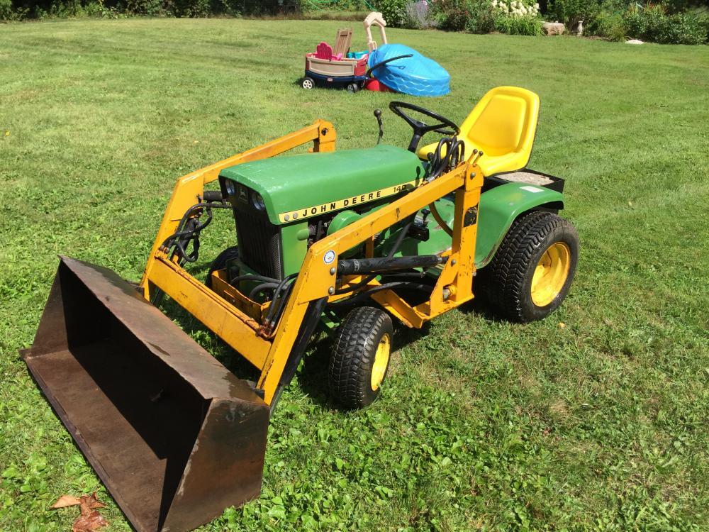 John Deere 140 H3 with Front End Loader ( FEL   Garden Tractor Forums